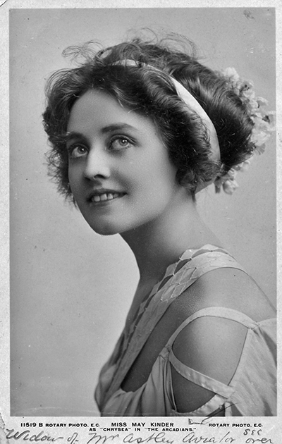 "Maisie Astley married to ""Otto"" Astley"