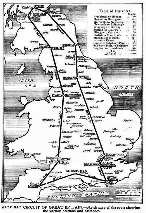 Daily Mail round-britain daily mail map