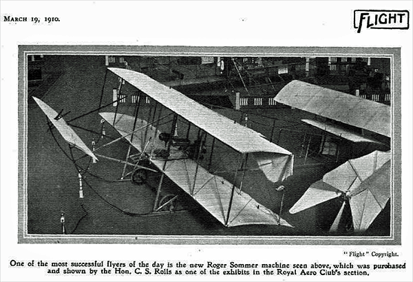 Roger Sommer flying machine