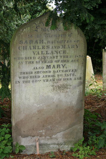 Charles and Mary Vallance