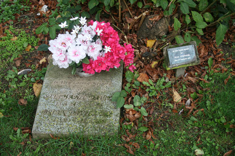 Stephanie and Brian Davies; Olga Stephens