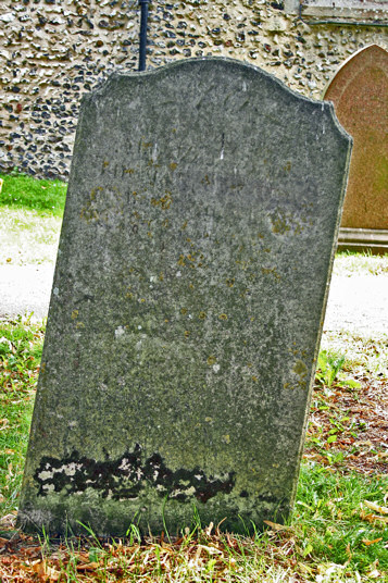 Thomas and Mary Barker and infant death Barker
