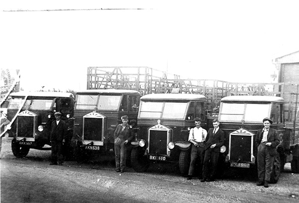 Ferrell and Baker 1929 Albion Lorries