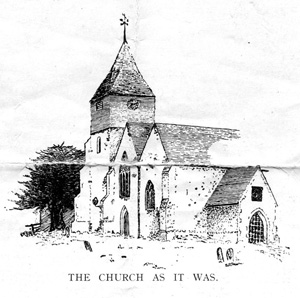 Sketch of the Church from the back cover