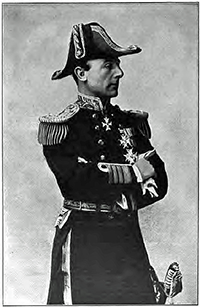 Admiral Jellicoe, Commander in Chief of the home Fleet