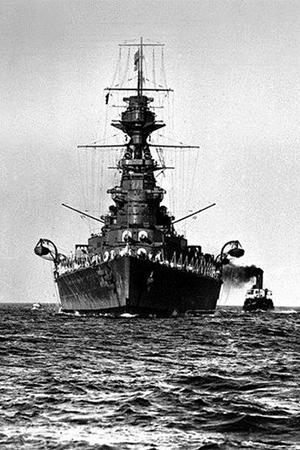 HMS Hood aboard which Arnold Taylor died