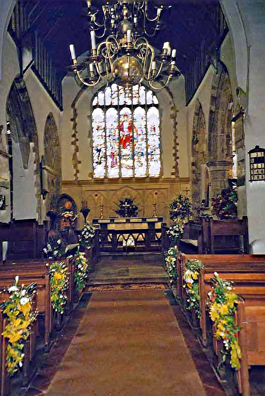 Kent Our County - View of the Aisle and Pew dressing
